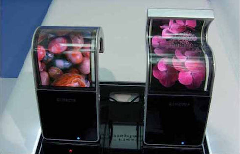 Запущено серийное производство AMOLED-дисплеев Samsung