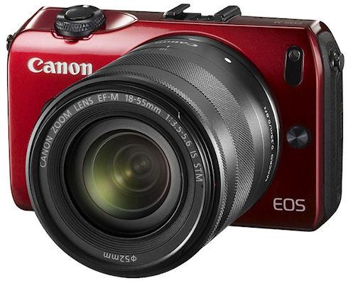 Первая беззеркальная камера Canon EOS M