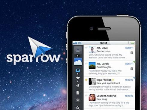 Google покупает разработчика почтового приложения Sparrow