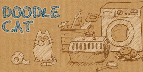Doodle Cat – виртуальная кошачья жизнь