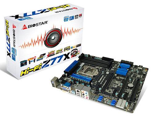 Biostar Hi-Fi Z77X – жизнь в мире музыке