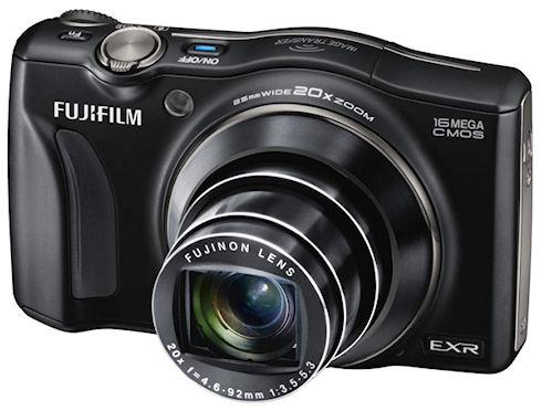 Fujifilm FinePix F800EXR с 20-кратным увеличением