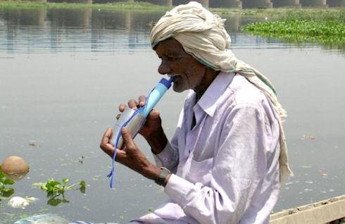 LifeStraw – индивидуальный фильтр для воды