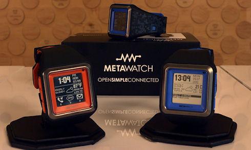 Водонепроницаемые часы MetaWatch STRATA
