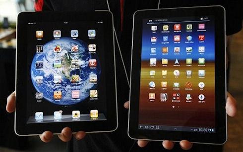 Покупатели не могли отличить iPad и Galaxy Tab