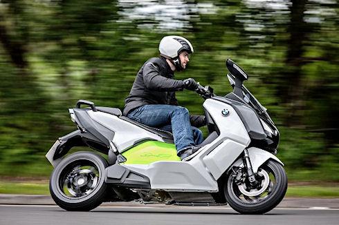 C Evolution — экологически чистый скутер от BMW