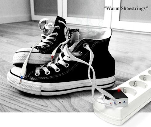 Обувь с подогревом