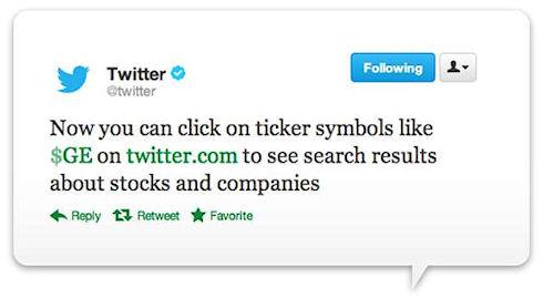 В Twitter появился хэштег