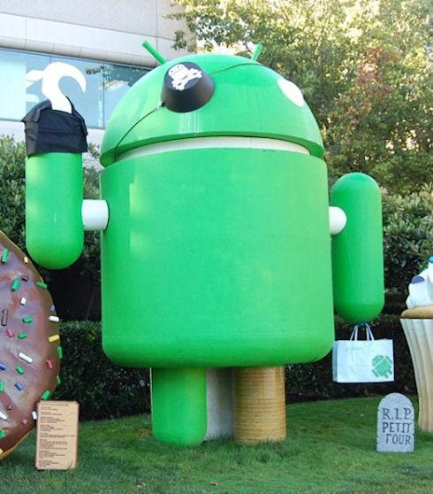 Ситуация с пиратством в Android не катастрофическая
