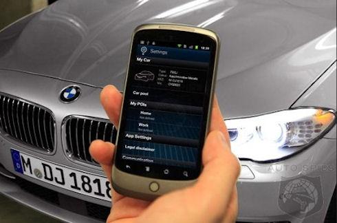 My BMW Remote: смартфон управляет автомобилем