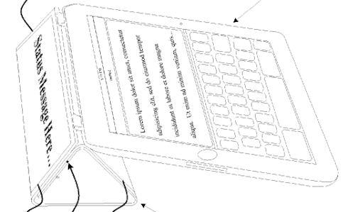 Apple получила патент для обложки Smart Cover с гибким дисплеем