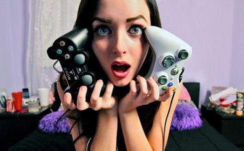 Девушки составляют половину геймеров в США