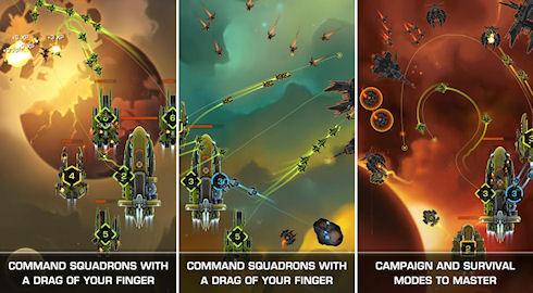 Strikefleet Omega: космические войны