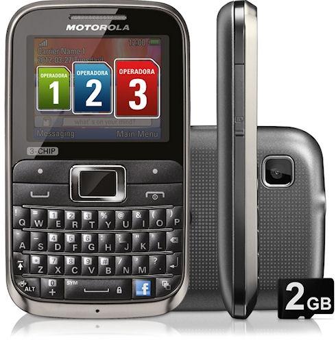 Недорогой Motorola Motokey EX117 с тремя SIM-картами