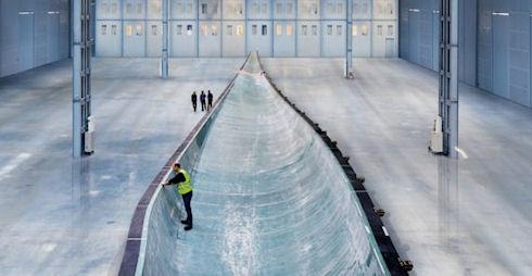 Siemens B75 – гигантские лопасти для ветряков