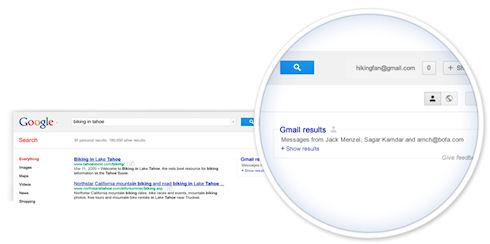 Google рассматривает вопрос включения в поисковую выдачу писем Gmail
