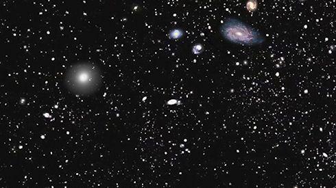 Более 1 млн галактик уместились на космической карте