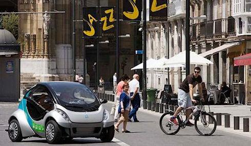 Hiriko: автомобиль вместо велосипеда
