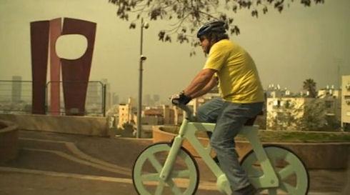 Велосипед из картона: дешево и надежно