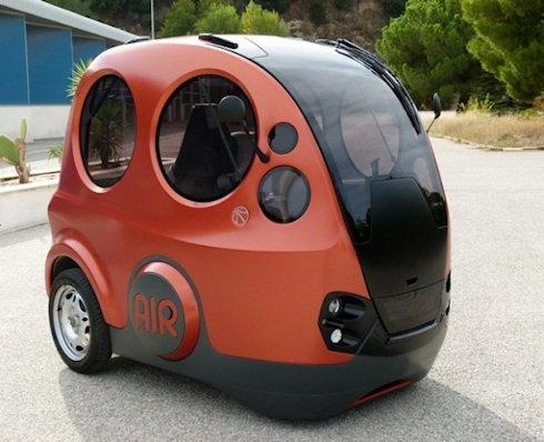 В Индии разработан автомобиль на сжатом воздухе