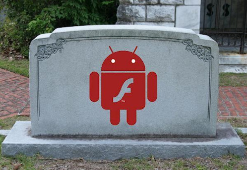 Adobe Flash уходит с платформы Android