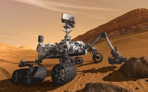 Обновление ПО марсохода Curiosity успешно завершено