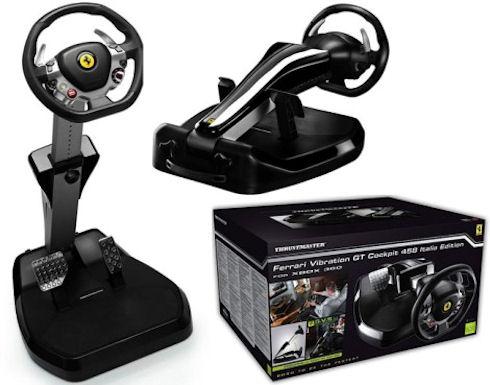Игровые контроллеры Thrustmaster в стиле Ferrari