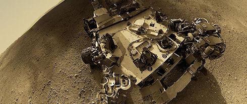 Лазерная пушка Curiosity дала первый бой