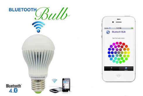 Лампочки Bluetooth Bulb с управлением от смартфона