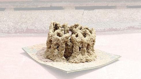 Песочный строитель Stone Spray Robot