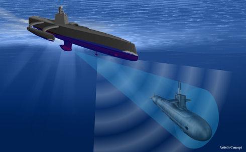 В США создается первая беспилотная субмарина
