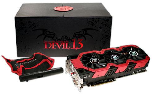 TUL анонсировала Radeon HD 7990 Devil13 Limited Edition