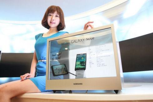 Прозрачные видеопанели от Samsung