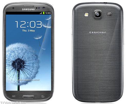 Galaxy S III меняет цвет