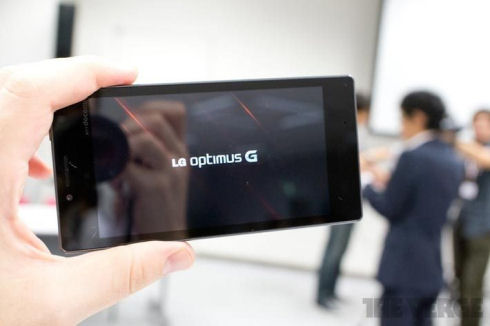 Встречайте: LG Optimus G