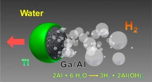 Создан микромотор, использующий воду в качестве топлива