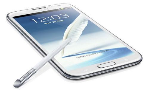 Samsung презентует Galaxy Note II