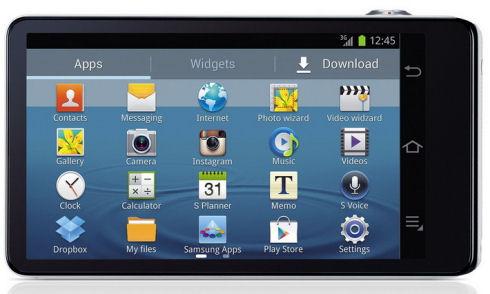 Samsung выпускает фотоаппарат Galaxy Camera на Android