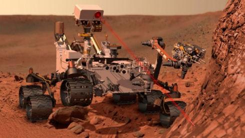 Марсоход Curiosity использует советское ядерное топливо