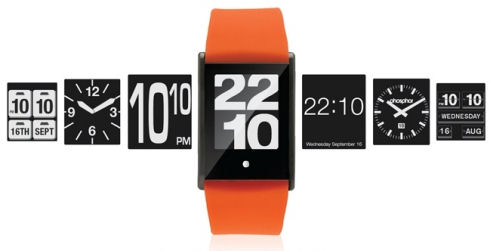 Phosphor Touch Time: сенсорный стиль