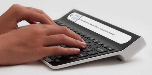 KeyView Smartype – клавиатура с LCD-дисплеем