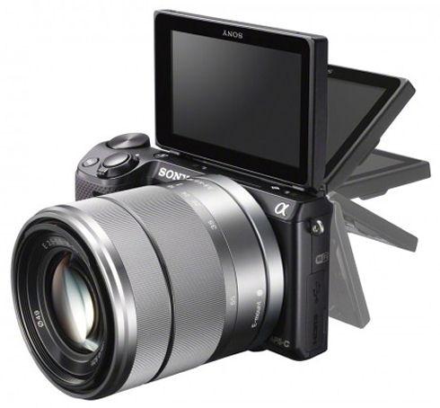 Фотокамера Sony NEX-5R с модулем Wi-Fi