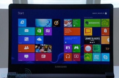 Ультрабук Samsung с дисплеем Retina
