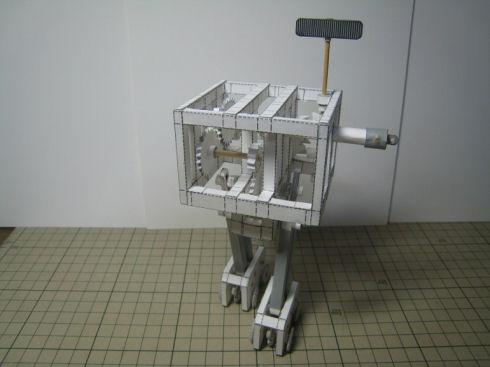 Японский бумажный робот Paper Robot III