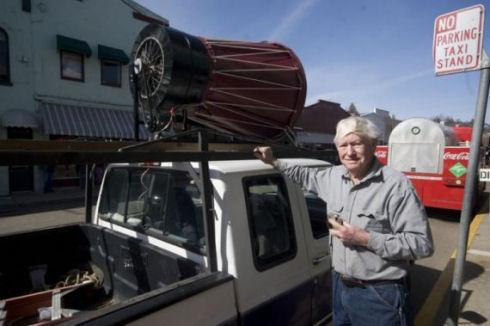 Ветеран создал воздушную турбину новой конструкции
