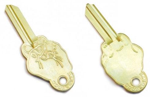 Заготовки для ключей в дизайнерском исполнении