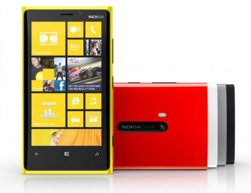 Nokia Lumia 920 – яркий смартфон с беспроводной зарядкой