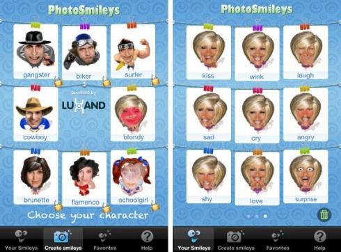 PhotoSmileys: улыбка в комплекте