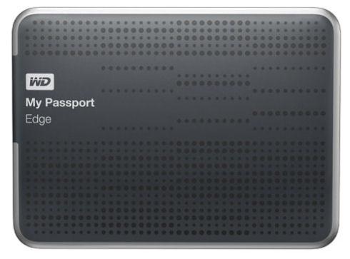 Винчестер WD My Passport Edge с интерфейсом USB 3.0