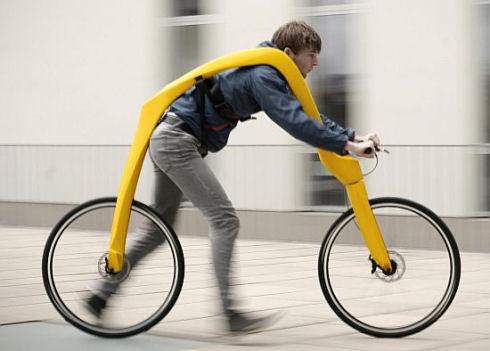 Fliz Bike – велосипед на человеческой тяге